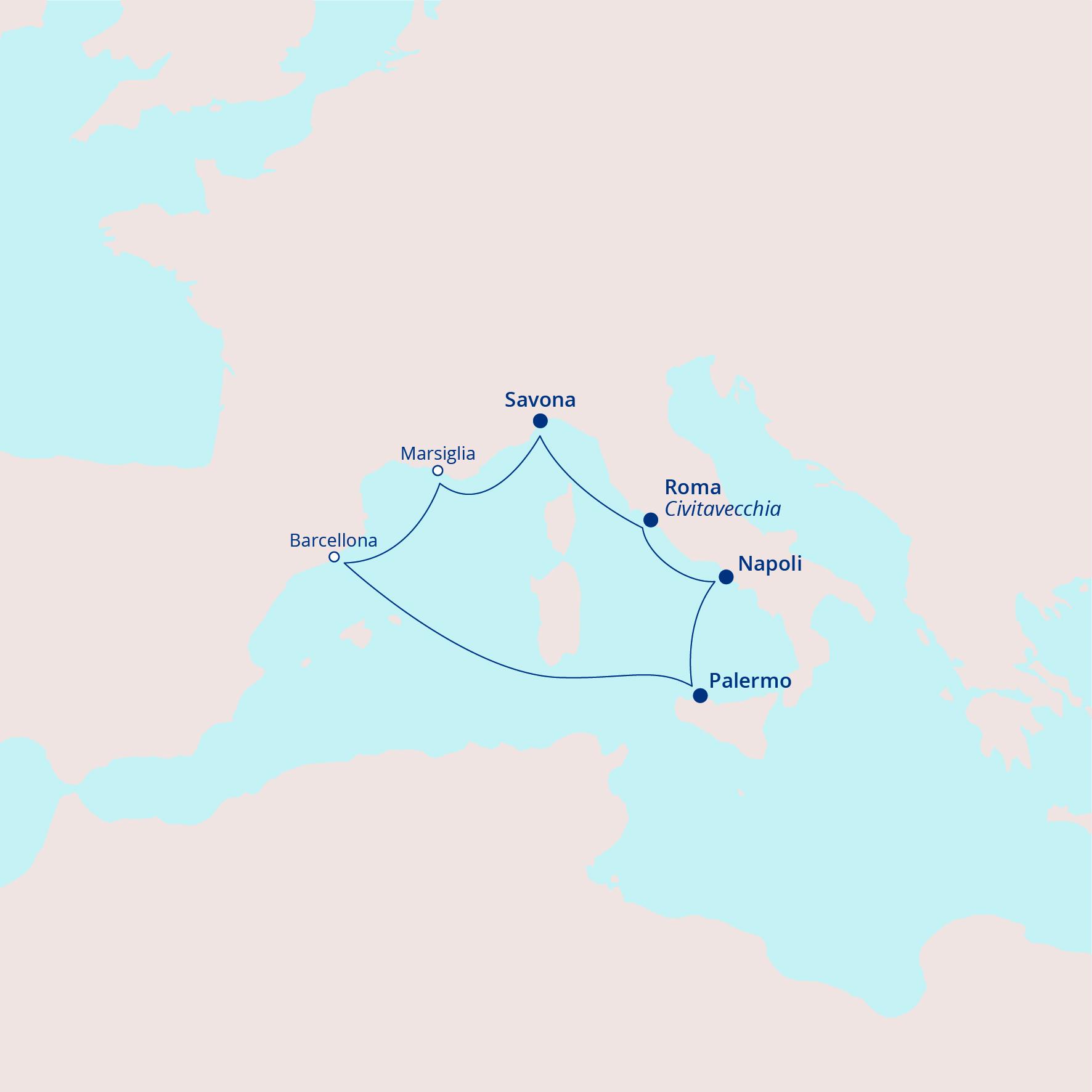 Itinerario Meraviglioso Med1