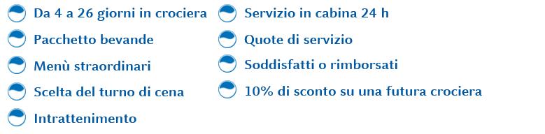 servizi inclusi All inclusive
