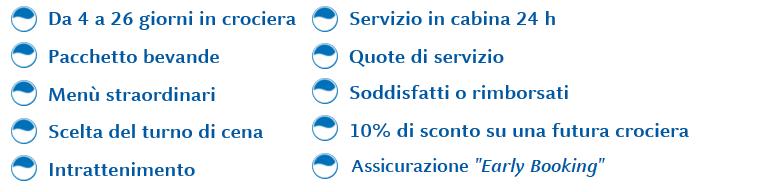 servizi inclusi Super All inclusive